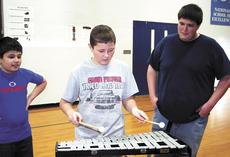"<div class=""source""></div><div class=""image-desc"">Marcus Barber plays the Xylophone. </div><div class=""buy-pic""><a href=""/photo_select/17893"">Buy this photo</a></div>"