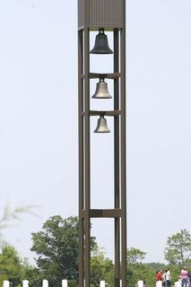 This carillon was built for future generations to be able to reflect upon and recognize the admiration this country holds for her veterans. The chimes will represent a living memorial.