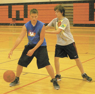 Colin Abner and Cameron Barner