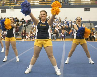 The Grant County High School Dance team performed at the fifth annual Jingle Bell Classic Dec. 10. Twenty-four teams performed in the competition.