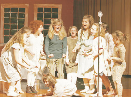 The 33-member cast included Grant County elementary, middle and high school students.The play was directed by Faith Clifton and Cheryl Workman.