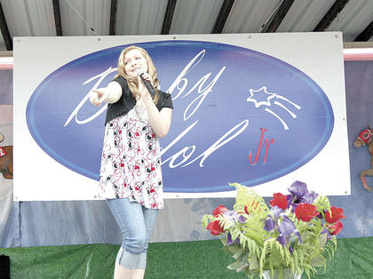Jacelyn Adams won Derby Idol Jr.