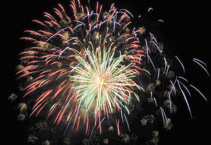 There were fireworks and flips at the 2nd Annual Baton Rouge Blast held over the weekend at the Northern Ky. Fairgrounds. The Kentuckiana MX Championship Series rolled into town and brought a freestyle motocross show. Dewayne Spaw wove patriotic music into his stage show. The night sky lit up with a fireworks show to end the festivities.