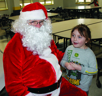 MCE's Makayla Zahlout had a long list of Christmas wishes for Santa this year.