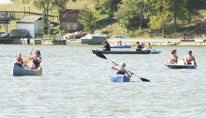 More than 150 people hit the waters of Lake Williamstown in kayaks, canoes, paddle boats and paddle boards for the city's first Paddle Williamstown on Aug. 27. Mayor Rick Skinner said the event was well-received by lake residents. He said  because of the positive comments received by attendees, the city will plan another event.
