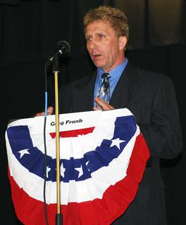Greg Frank, Democratic Candidate, United States House of Representatives - 4th Congressional District