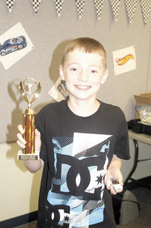 Seth Bowling was named the grand champion of the Hot Wheels derby.