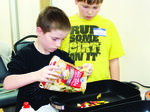 Sherman Elementary gifted, talented visits Grant County Extension Office for cooking classes