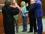 Election winners sworn in to office