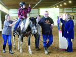 Special education students visit Lovesome Stables