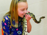 WES students gets upclose and personal with animals
