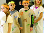 WES students celebrate Thanksgiving