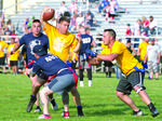 Coaches top Cops 32-24  in fundraiser game