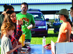 Grant County 4-H camps out