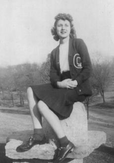 """<div class=""""source"""">submitted</div><div class=""""image-desc"""">This Another Place In Time photo features Grant County cheerleader Virginia Massie Doan in 1942. Doan is now 85 years old and resides at her home in Erlanger. She is a retired school teacher and a fixture at Erlanger Baptist Church. There were no guesses. Thanks to Debby Wilson of Dry Ridge, Doan's daughter, for providing the photo. The Grant County News publishes old photos as space allows. We need photos of people, places and events from Grant County's history. Bring photos to 129 S. Main in Dry Ridge or e-mail to gcneditorial@grantky.com.</div><div class=""""buy-pic""""></div>"""