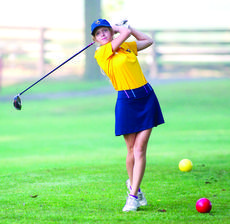 """<div class=""""source""""></div><div class=""""image-desc"""">GCHS's Victoria Camacho sends the ball down the fairway during the Bearcat Birdie Bash. Photos by Mark Verbeck</div><div class=""""buy-pic""""><a href=""""/photo_select/29702"""">Buy this photo</a></div>"""