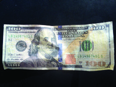 """<div class=""""source""""></div><div class=""""image-desc"""">Several Grant County businesses fell victim to counterfeit $100 bills being passed off as real. Any $100 bill with a serial number LB14967401C are the fake ones two suspects were using to scam businesses and yard sales. </div><div class=""""buy-pic""""></div>"""