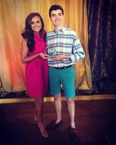 "<div class=""source"">Photo provided</div><div class=""image-desc"">Hayley Leach and her brother Matthew after she won the Quality of Life award during Miss Kentucky preliminaries.</div><div class=""buy-pic""></div>"