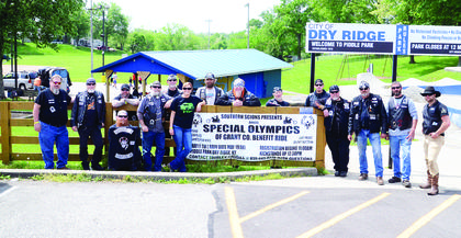 Southern Scions hosted their third annual Special Olympics Grant County benefit ride and games on May 11 at Piddle Park in Dry Ridge.   Photos by  Jerry Morris