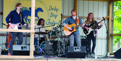 Frontier performs at the annual Derby Day celebration held on May 4 and May 5 in downtown Williamstown. Photos by Mark Verbeck