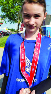 Special Olympians also competed in several track and field events during the games.