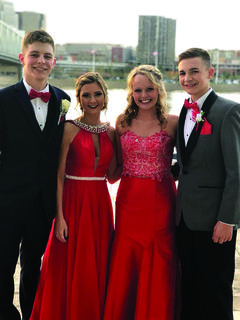 GCHS — Colton Beach, Jordan Gemmer, Rachel Williams and Colin Beach