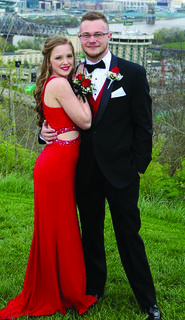 GCHS — Courtney Covey and Evan Keith