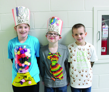 WES — Jaelyn Hammons, Avery Sipple and Noah Perkins