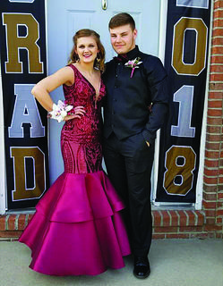 WHS — Hailee Roland and Isaac Bohrer